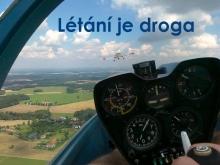 létání je droga